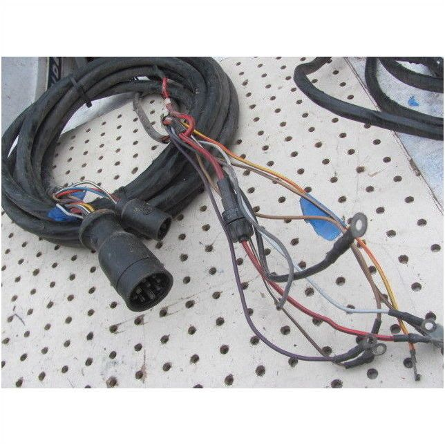 Mercury Outboard 8 Pin Engine Remote Wire Harness 12 Pin to Dash with on mercury wiring diagrams, mercury voltage regulator, mercury tach wiring, mercury wiring color code, mercury harness part number,
