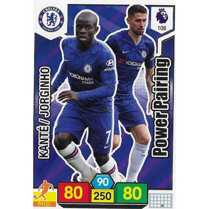 99 Panini Premier League ADRENALYN XL 2019//20 Jorginho Chelsea no