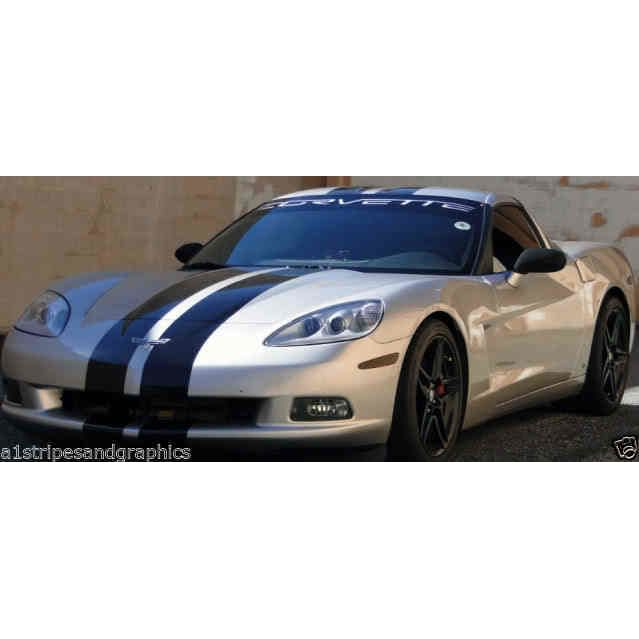 "Corvette 8/"" Rally Stripe Stripes Decals FIT ALL YR /& MODELS LT1 LT4 LS1 LS6 LSX"