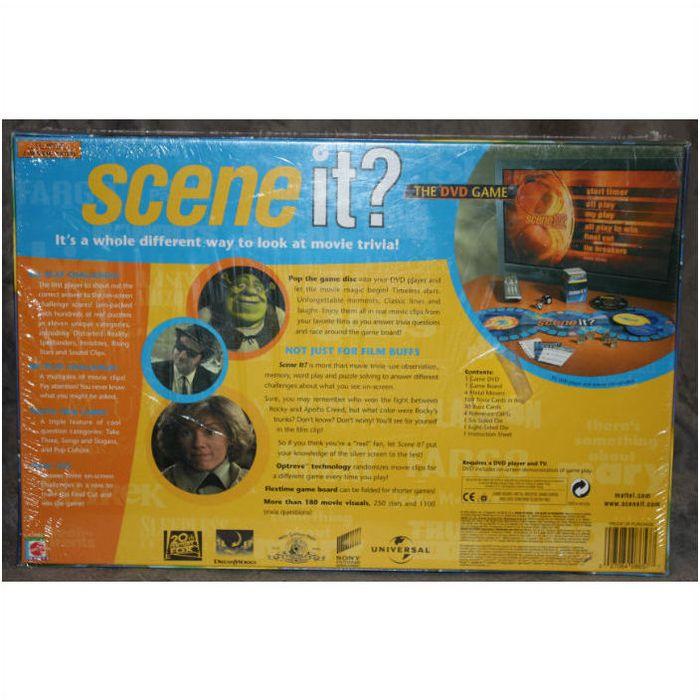 2003 Mattel Scene It The Dvd Game Mint In Box 027084086577 On Ebid Canada 128928776