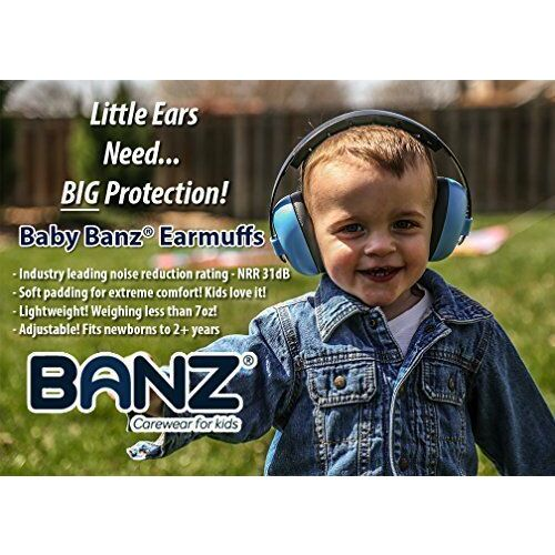 Baby BANZ Earmuffs Infant Hearing Protection  Ages 0-2 Years  The Best Earmuffs