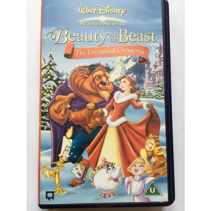 Beauty And The Beast The Enchanted Christmas Vhs 5017182709626 On Ebid United States 180010042