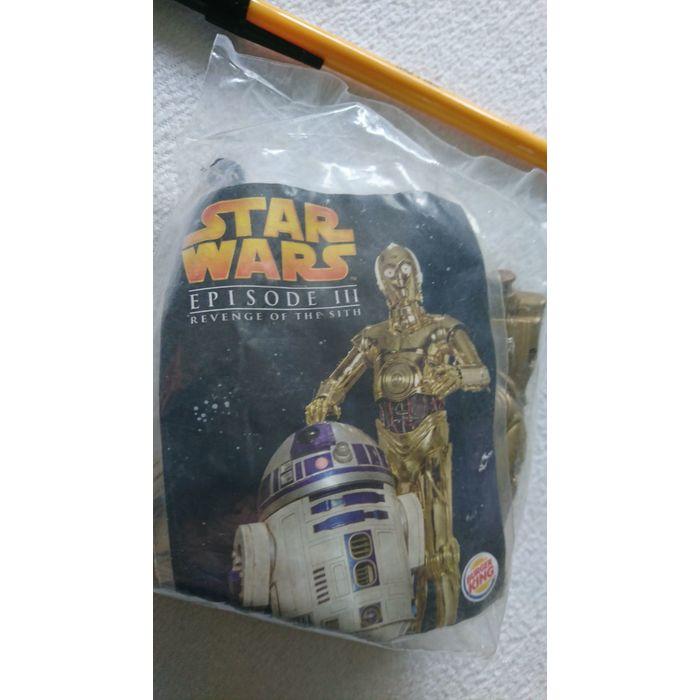 Sale Star Wars Ep Iii Revenge Ofthe Sith 2005 Burger King C3po Toy Figure Baggie On Ebid United Kingdom 161999900