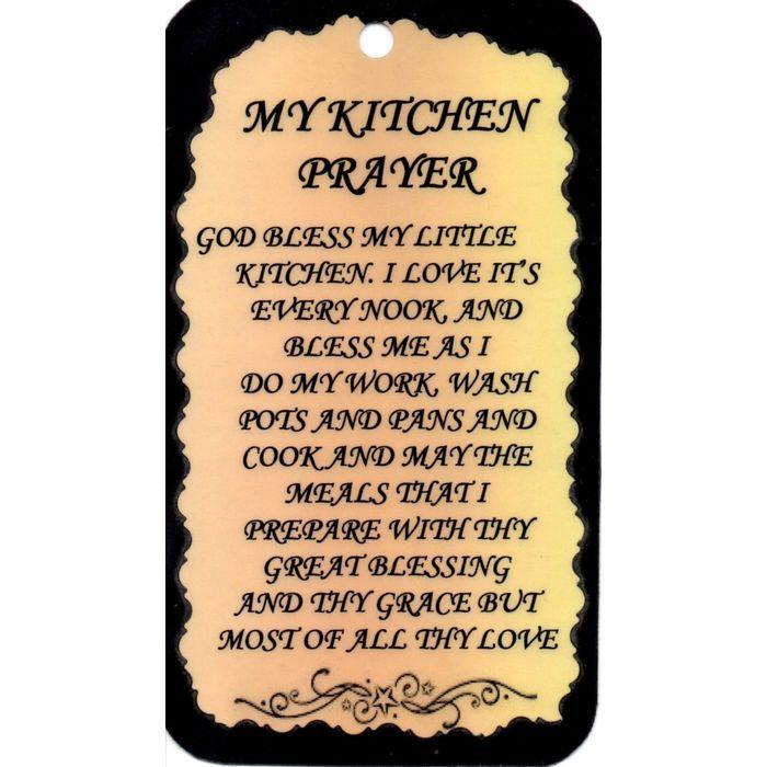 1012 Inspirational Sign My Kitchen Prayer Saying Plaque Christian Gift Love On Ebid Ireland 182468450