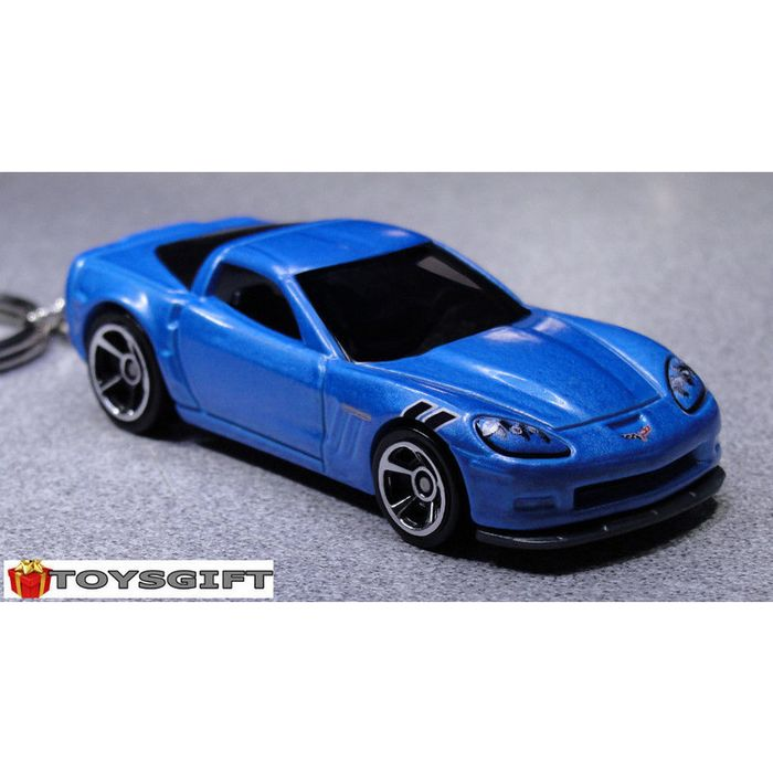bbbb Silvery Car Key Chain Suit for Corvette c7 c5 c6 Keychain Keyring Accessories