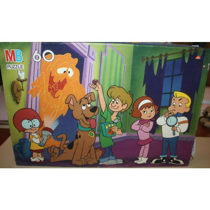 Milton Bradley A Pup Named Scooby Doo 60 Piece Puzzle - Complete  032244049569 on eBid United States | 170454417
