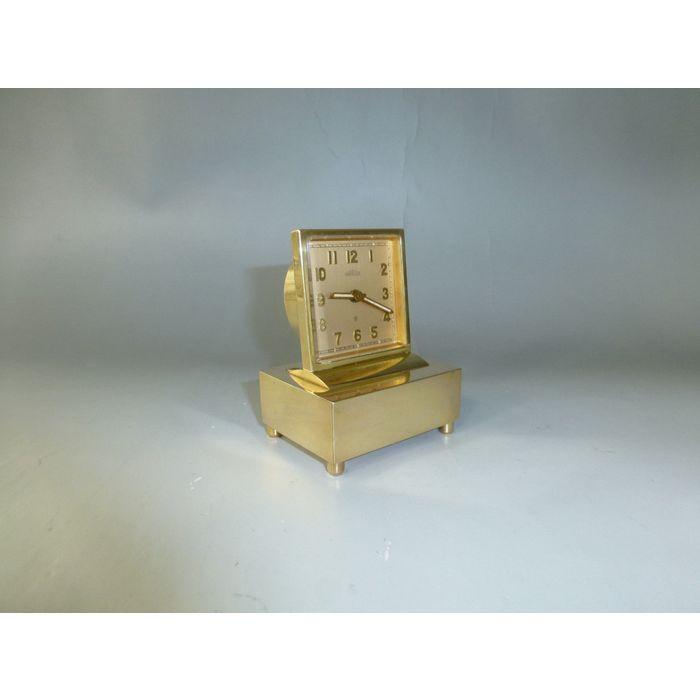 Antique Swiss Angelus Music Alarm Clock Pre Reuge Music Box
