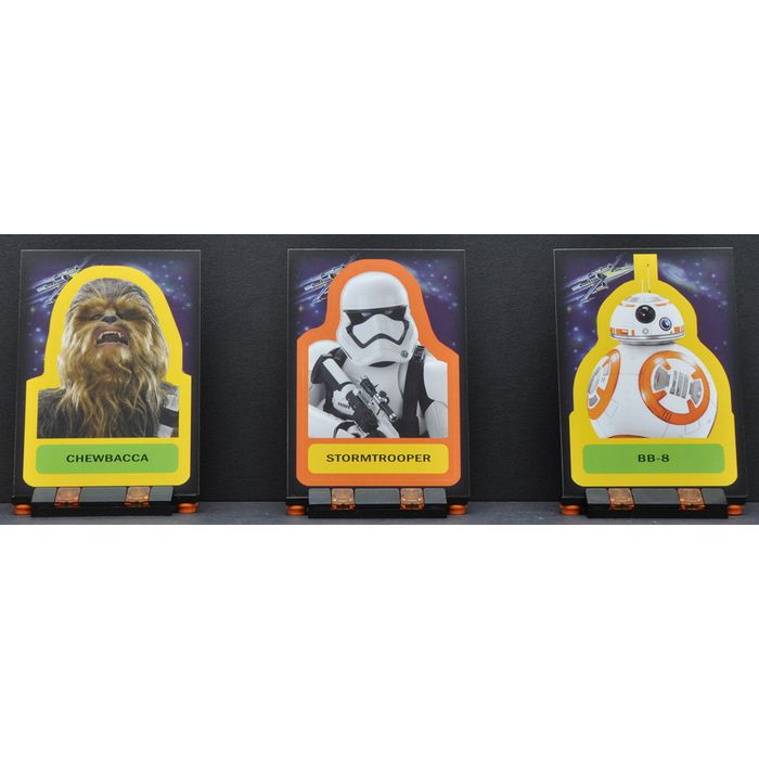 Star Wars Force Awakens S1 Complete Locations Chase Card Set #1-9