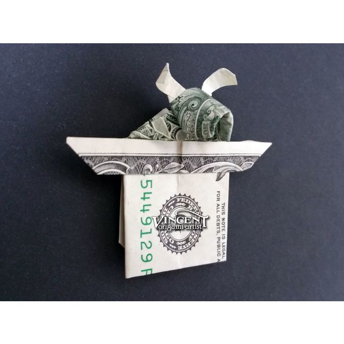 Money Dollar Origami Rabit- Origami Rabit Tutorial - YouTube | 700x700