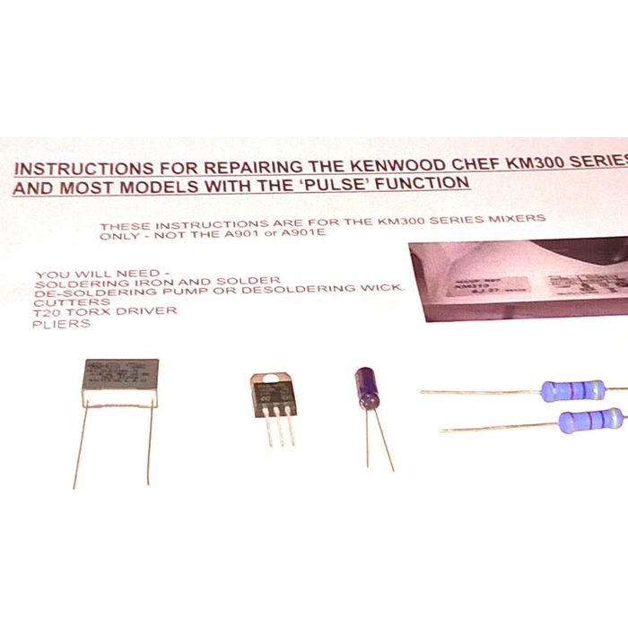 KENWOOD CHEF /& MAJOR SPEED CONTROL MODULE WITH PULSE