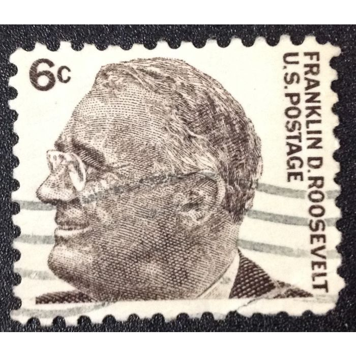 Us Stamp 1284 Used 1966 6c Franklin D Roosevelt 2 On Ebid United States 142125092