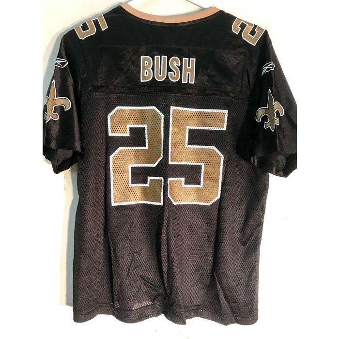 Reebok Women's NFL Jersey New Orleans Saints Reggie Bush Black sz S on eBid United States   199444390