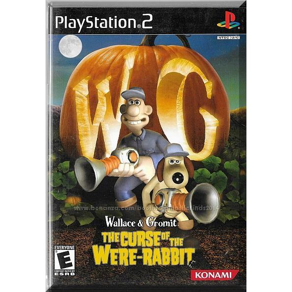 Ps2 Wallace Gromit The Curse Of The Were Rabbit 2005 Complete 083717201427 On Ebid United States 174052460