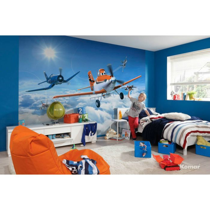 368x254cm Wallpaper Mural Wall Decor For Kids Room Planes Above The Clouds 4036834084653 On Ebid United Kingdom 135538746