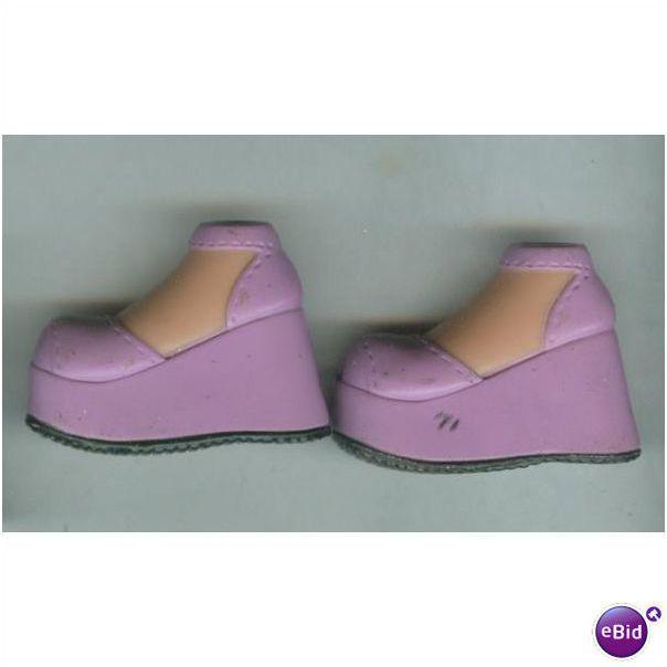 Bratz Purple Wedge Platform Shoes on