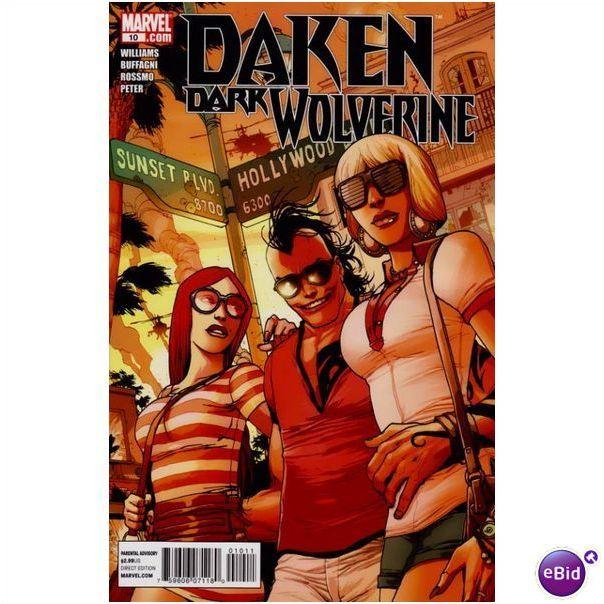 Daken Marvel Dark Wolverine #10 Comic Book