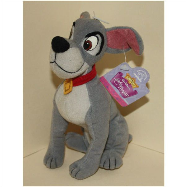 Applause Disney Classics Lady The Tramp Tramp Bean Bag Plush With Tags 083361426528 On Ebid United States 91389580