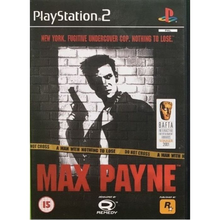 Max Payne Pal For Sony Playstation 2 Ps2 From Rockstar Sles