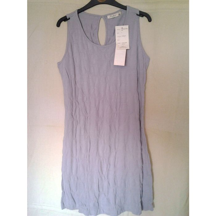 Adini 100/% Cotton Voile blouse V neck short sleeves button through pintucking