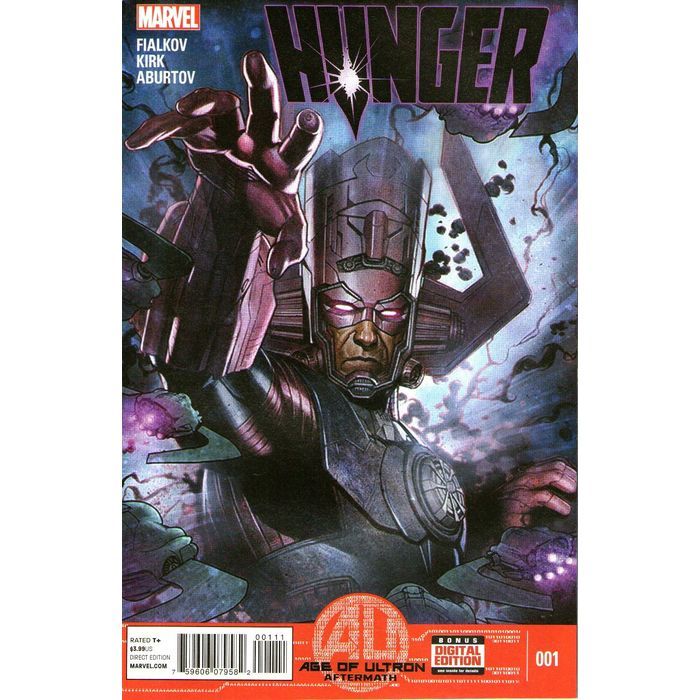 2013 Galactus Age of Ultron Aftermath Hunger No.3