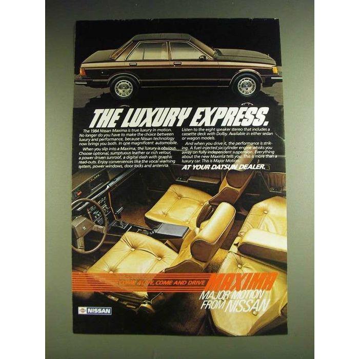 Get Nissan Maxima Commercials
