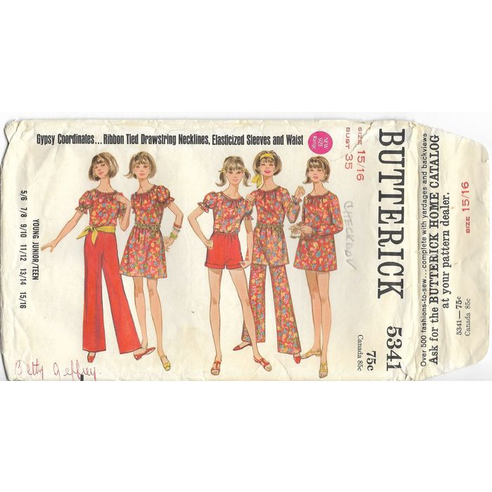Butterick Sewing Patterns Mixed  from the late 1990/'s