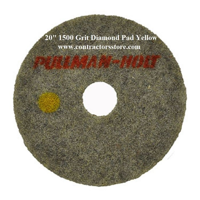 20 Diamond Set 1500 3000 Grit Dry Polishing Pad Concrete Terrazzo Floors