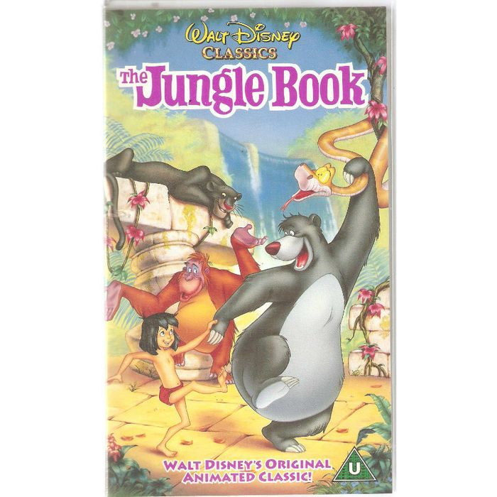 Walt Disney Classic: The Jungle Book VHS Video