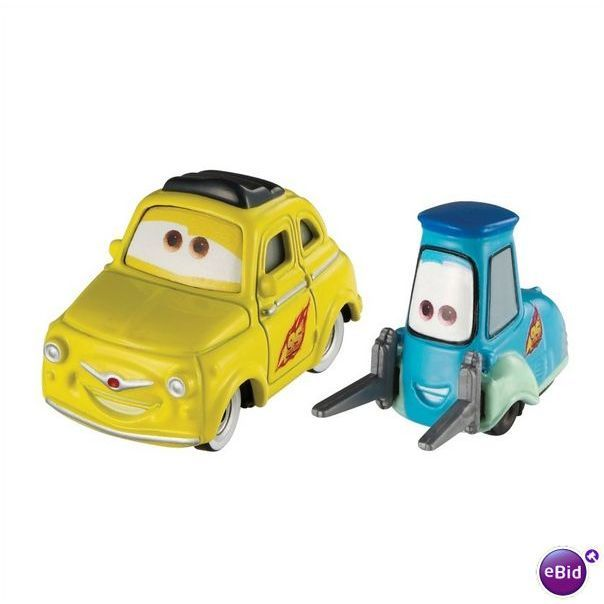 Character Cars 2 Luigi Guido Disney Pixar New 0746775035372