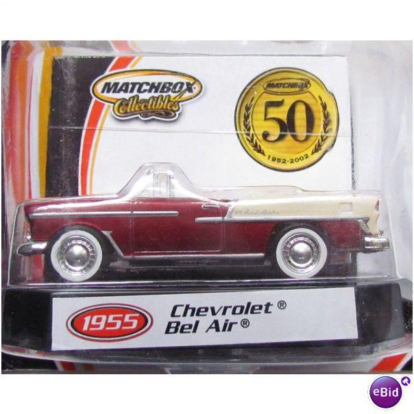 1955 Chevrolet Bel Air Matchbox 50th Anniversary Collectibles Matchbox Toys