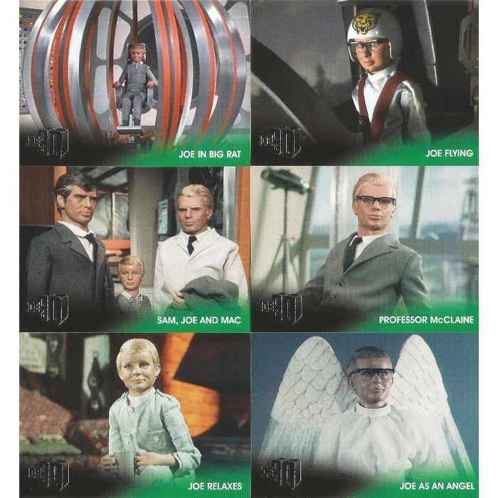Joe 90 Gerry Anderson Full 54 Card Base Set 6 Card Chase Set