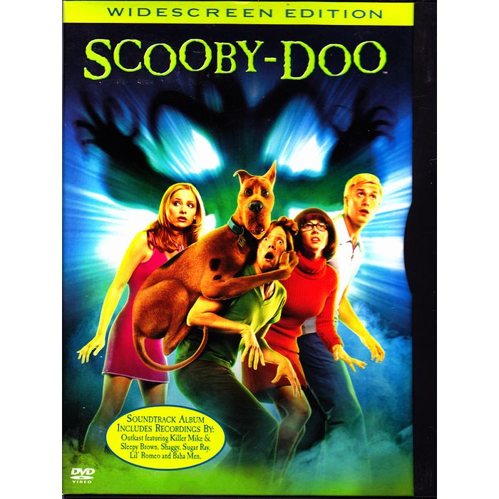 Scooby Doo The Movie Dvd 2002 Widescreen Very Good 085392343027 On Ebid United States 189476039