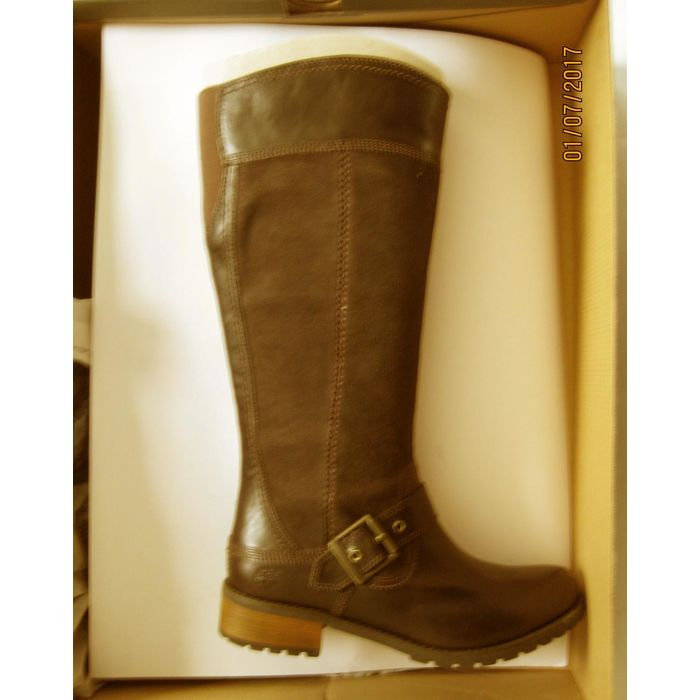 Leone Aumentare debito  New Timberland Womens EK Bethel Tall Brown Riding Boots 6 Wide (C,D,W)  887974578342 on eBid United States | 154005433