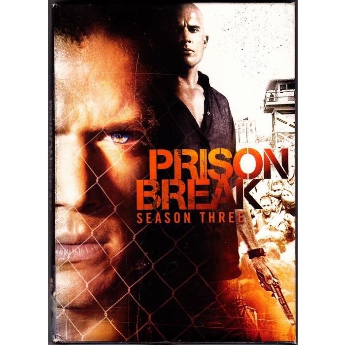 Prison Break Complete 3rd Season Dvd 2009 4 Disc Set Very Good 0024543527275 On Ebid United States 183363746