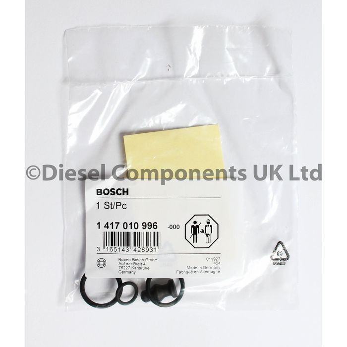 Seals Pack of 4 Audi A3 2.0 TDI Bosch Diesel Fuel Injector Washers