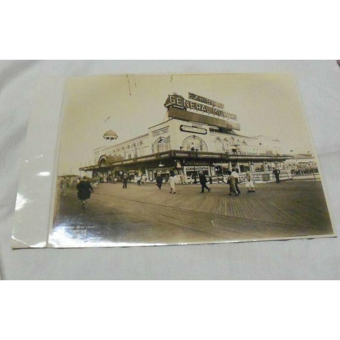 Vintage Fred Hess Son Atlantic City New Jersey Photo General Motors On Ebid United States 187882144