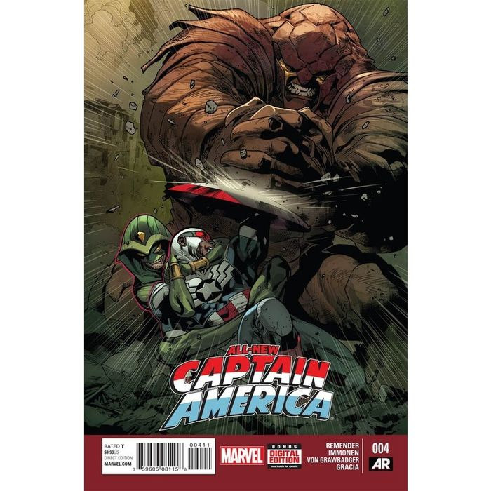 Marvel Comics Sam Wilson Captain America #2 2015 NM