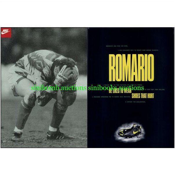 picnic En particular Erudito  Nike Air Rios Romario Original Magazine DPS Advert 15896 on eBid United  States | 119672295