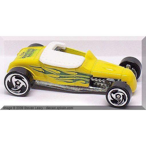 2000 Hot Wheels #06 Hot Rod Magazine Track T 0910 G1 crd