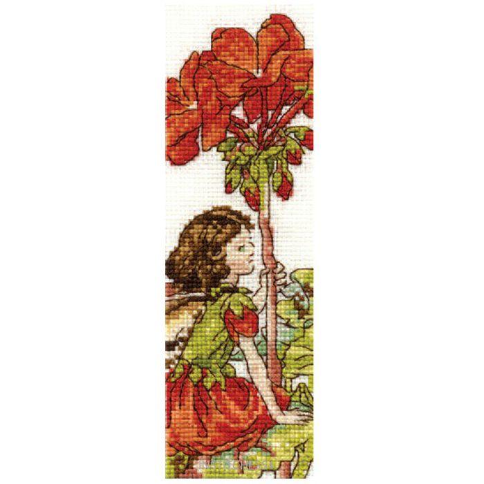 The Garden Fairy Cross Stitch Kit DMC