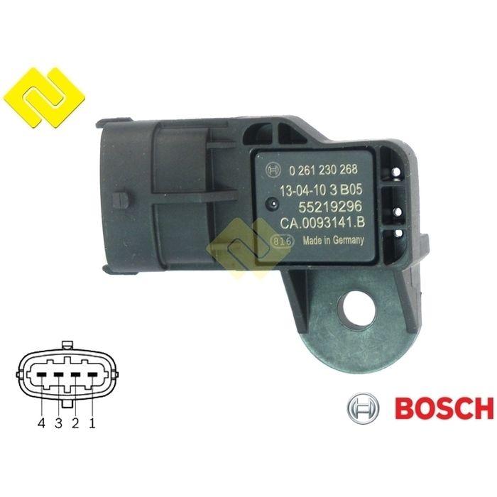 Bosch Injection dans Le Collecteur D/'admission MAP Capteur de pression 0 261 230 268