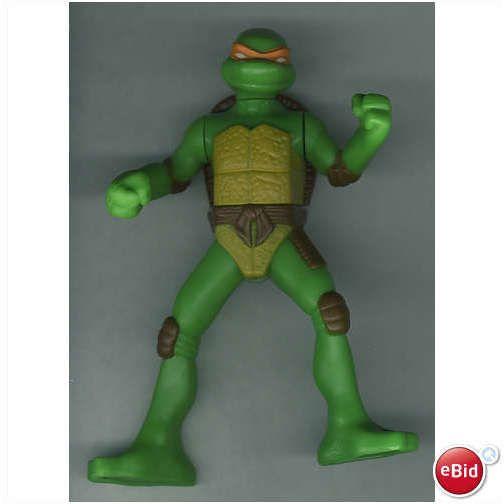 2007 Mcdonalds Teenage Mutant Ninja Turtles Michelangelo Action