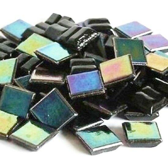 100g Glass Mosaic Tiles Iridescent GoldLink Collection 1x1cm  P/&P INC app150