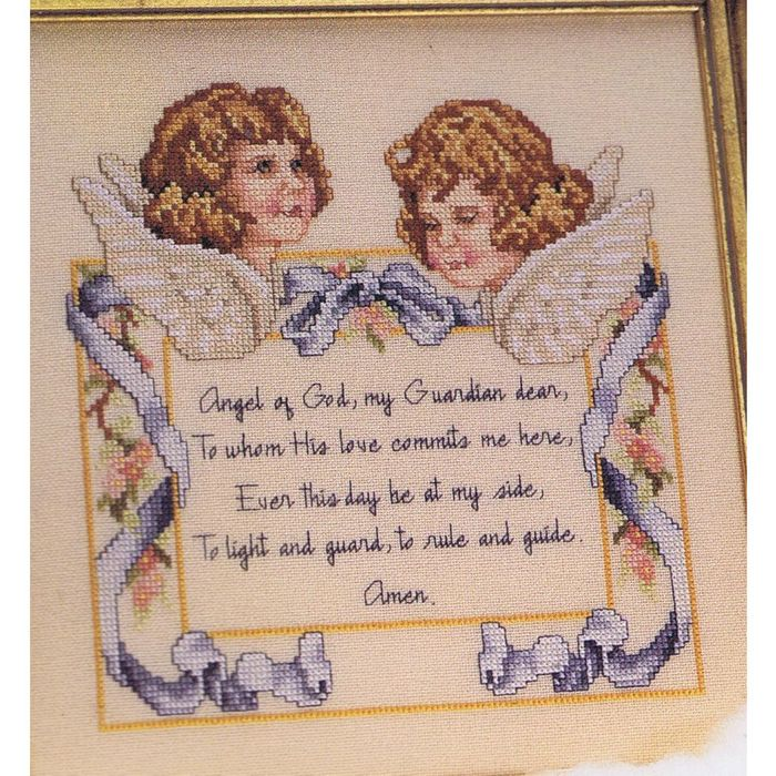 Classic Victorian Afghan and Pillow Cross Stitch Chart