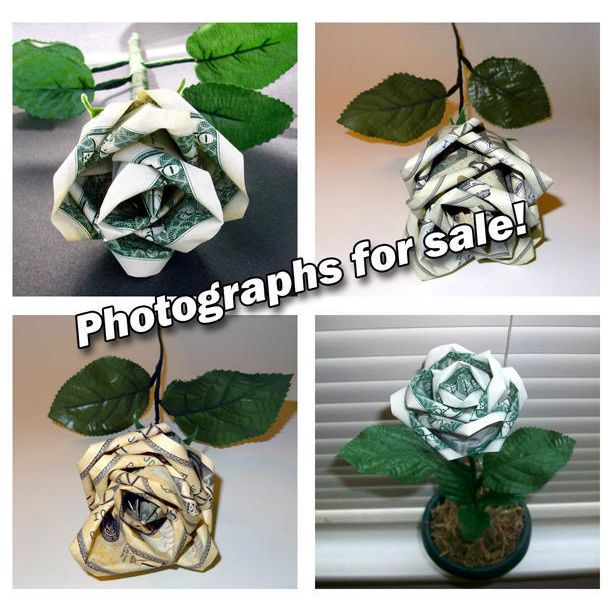 Flowers Made of Money | Origami Money Flower Gift #wedding #gifts ... | 612x612