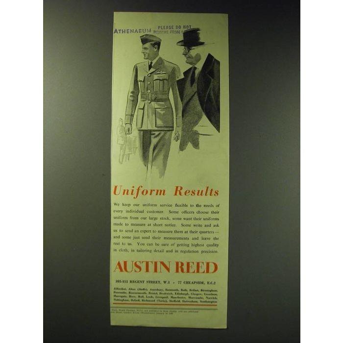 1942 Austin Reed Uniforms Ad Uniform Results On Ebid New Zealand 159169690
