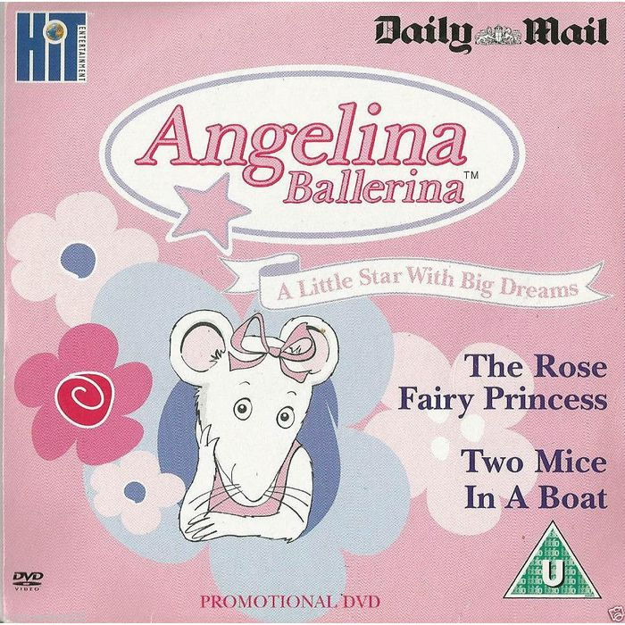 Angelina Ballerina DVD Promo The Daily Mail Rose Princess Two Mice In A Boat on eBid United Kingdom | 176917582