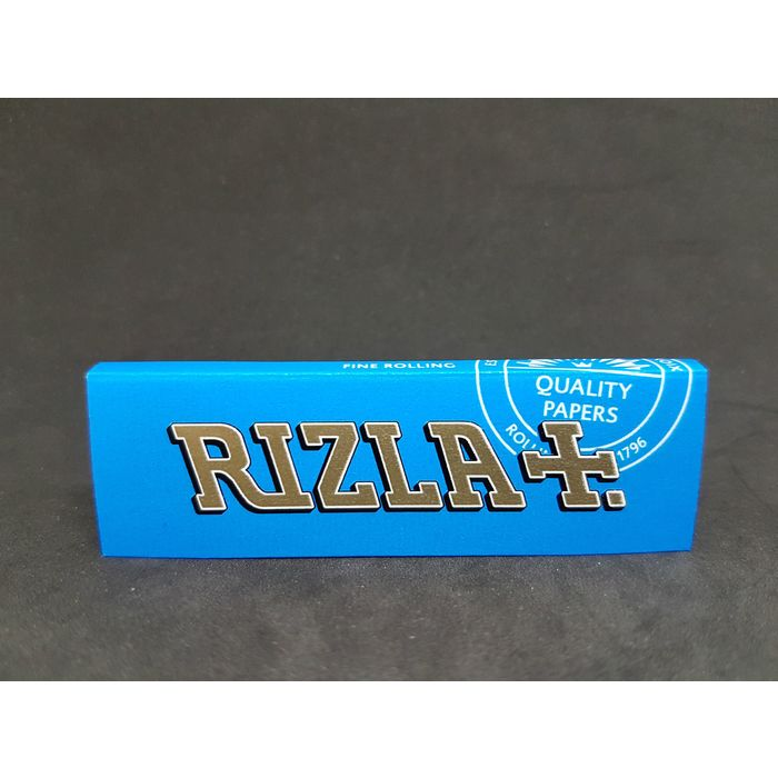 ROLLING PAPER BLUE 1 Pack of 50 Leaves Size 69mm RIZLA