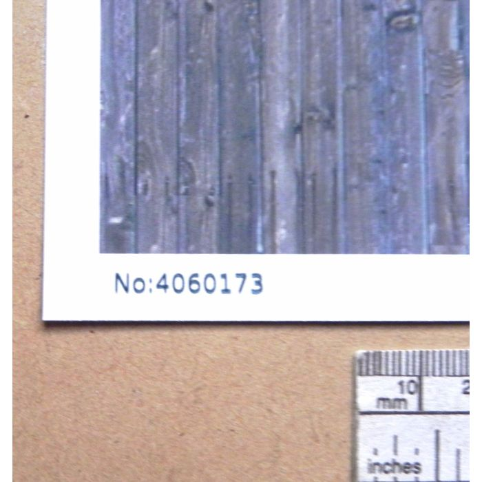 """1:24 scale A4 sheet G gauge /"""" Wood planking weathered /""""  paper"""