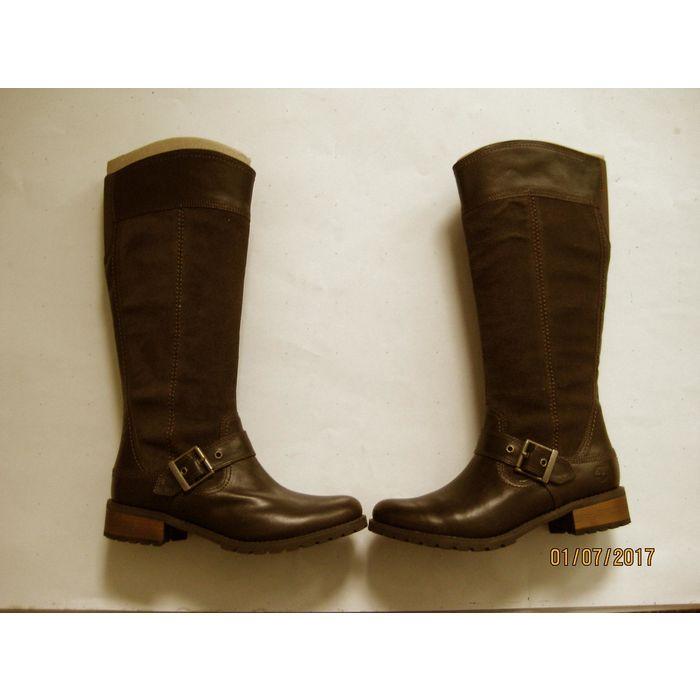 New Timberland Womens EK Bethel Tall Brown Riding Boots 6